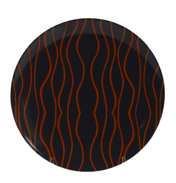 Dessertteller, Grey Line orange